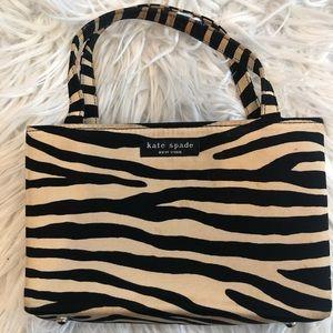 Vintage Used Condition Kate Spade Zebra Print Bag